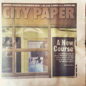 Baltimore City Paper cover