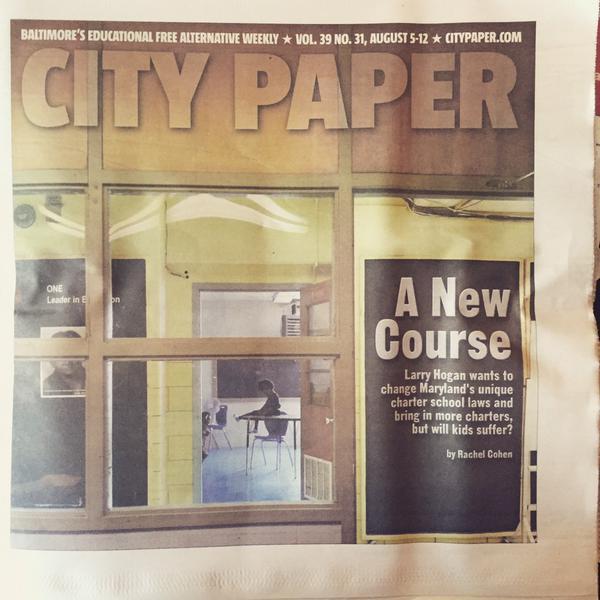 Baltimore City Paper cover